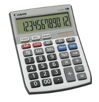 CANON CALCULATOR GST LS121TS  12 DIGIT