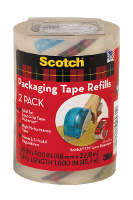 SCOTCH 3M PACKING TAPE DP-1000RR2 48mmx22.80m CLEAR PKT2