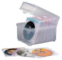 KENSINGTON CD SLEEVE & BOX 100 CAPACITY