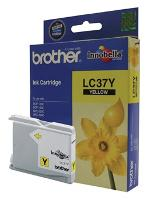 BROTHER LC37Y YELLOW INK CART. DCP145C, DCP165C, MFC250C, MFC290C
