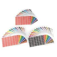 AVERY COLOUR CODE LABEL SHEETS  3