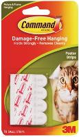 3M COMMAND ADHESIVE POSTER STRIPS 17024