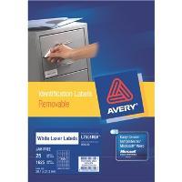 AVERY L7651REV-25 MINI REMOVABLE LABELS 65/S
