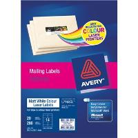 AVERY L7163CL LABELS 99.1 X 38.1Mm  14/S MATT