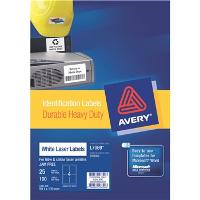 AVERY L7069-25 HEAVY DUTY 4 PER PAGE 99.1 X 139mm   524476