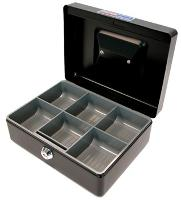 CONCORD CASH TIN BOX CLASSIC  NO.8 20cm   BLACK 527784