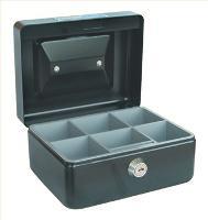 CONCORD CASH TIN BOX CLASSIC  NO.6 15cm   BLACK 527783