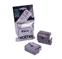 BROTHER MK231  BLACK/WHITE  12mm TAPE
