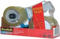 SCOTCH 3M TAPE DISPENSER BPS-1 BONUS PACK 523656