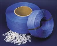 POLY STRAPPING 12mmx1000m BLUE HAND STRAPPING