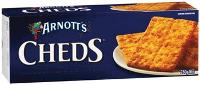 ARNOTTS CHEDS BISCUITS  250gr