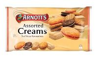 ARNOTTS ASSORTED CREAMS BISCUITS 500gr