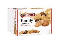 ARNOTTS ASSORTED FAMILY BISCUITS  1.5kg **  526185