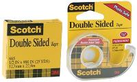 SCOTCH 3M 136P DOUBLE SIDED TAPE 12mmx6.3m IN DISPENSER 523605
