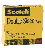 SCOTCH 3M 665 DOUBLE SIDED TAPE 19mmx33m - DISCONTINUED NO LONGER AVAILABLE