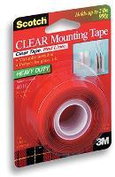 SCOTCH 3M 410P (401P) SUPER STRENGTH CLEAR MOUNTING TAPE 523699
