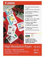 CANON HR-101N A4 HI RES. 106GSM GLOSSY PHOTO PAPER PKT200 520729