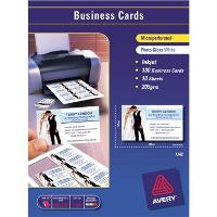 CELCAST IJ42 A4 BUSINESS CARDS 10/S PHOTO GLOSS