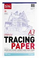 SIHL TRACING PAPER A3 92GSM TRANSPARENT PKT100
