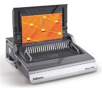FELLOWES BINDING MACHINE GALAXY E500 COILS COMBS ELECTRIC