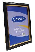 CARVEN PICTURE CERTIFICATE FRAME A4 WOOD FINISH