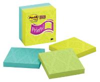 POST-IT 654-5SSFP SUPER STICKY NOTE  76x76mm PKT5 ASSORTED
