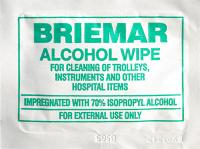 BRIEMAR HOSPITAL GRADE CLEANING, DISINFECTANT, SANITISING WIPES SACHETS