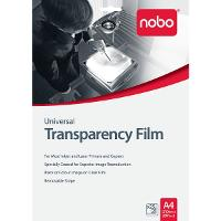 NOBO A4 COPIER/LASER TRANSPARENCY FILM