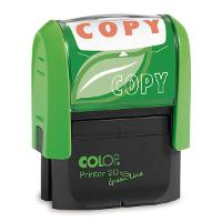 COLOP GREEN STAMP SELF INKING COPY  RED