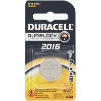 DURACELL DL2016 LITHIUM BATTERY