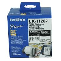 BROTHER QL LABEL 62x100mm SHIPPING/NAME BADGE DK11202