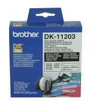 BROTHER QL LABEL 17x87mm FILE FOLDER WHITE DK11203 524298