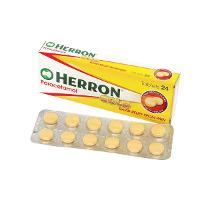 HERRON PARACETAMOL TABLETS PKT24