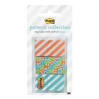 3M POST IT FLAGS 682-GEOS 24X43MM GEOS PKT3