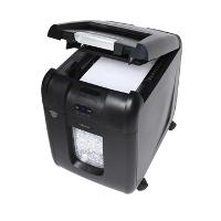 REXEL SHREDDER AUTO+ 200X OFFICE 200 SHEET CROSS CUT P4