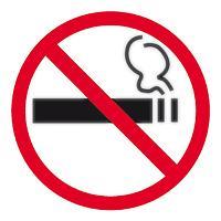 APLI SIGN SELF ADHESIVE NO SMOKING