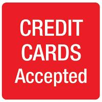 APLI SIGN SELF ADHESIVE CREDIT CARDS ACCEPTED