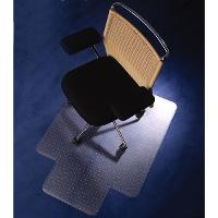 FLOORTEX CHAIRMAT 90X120CM MEDIUM PILE RECTANGULAR