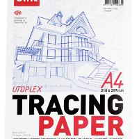 SIHL TRACING PAPER A3 92GSM TRANSPARENT PAD 50