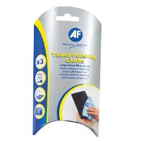 AF CLEANING CLOTHS ATPC003 TABLET POLISHING PKT3