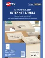 AVERY L7168 INTERNET SHIPPING LABELS 2/S  199.6 X 143.5mm PKT10 524533