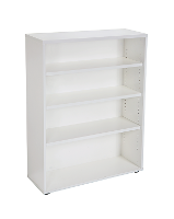 BOOKCASE 1200H X 900W X 315D 3 SHELVES WHITE 525707