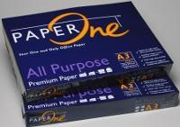 PAPERONE BLUE A3 80GSM WHITE COPY PAPER