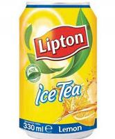 LIPTON ICE TEA LEMON 330ML CTN12