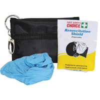 FIRST AIDERS CHOICE CPR RESUS SAFE DISPOSABLE MASK 637770