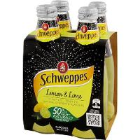 SCHWEPPES MINERAL WATER 300ml BOTTLE LEMON LIME CTN24