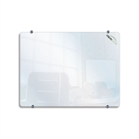CLARION GLASSBOARDS WHITEBOARDS 900 X 600mm WHITE