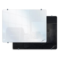 CLARION GLASSBOARDS WHITEBOARDS 900 X 600mm BLACK