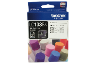 BROTHER LC133BK INKJET CARTRIDGE BLACK