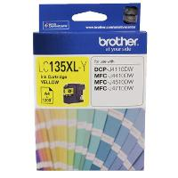 BROTHER LC135XLY INK CARTRIDGE YELLOW